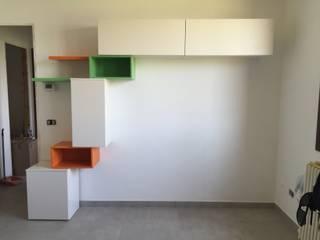soggiorno in openspace: Soggiorno in stile  di Arreda Progetta di Alice Bambini