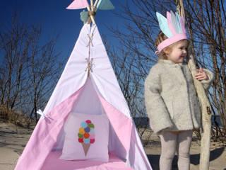 Tipi  Ajku  Pink : styl , w kategorii  zaprojektowany przez Ajku