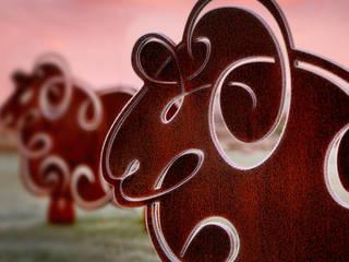 Herdwick Sheep Garden Sculpture:   by Garden Art and Sculpture