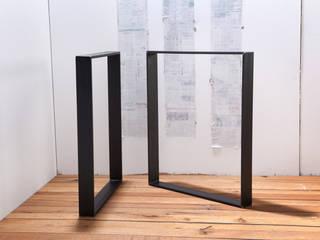 Tischbeine, Beine für Tisch aus rohem Stahl:   von Rough And Ready