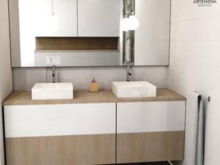 Minimal style Bathroom by Artenova Design Minimalist
