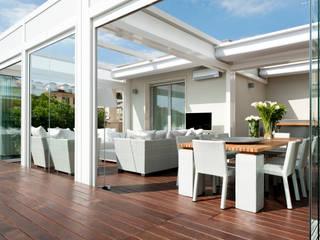 Balcones y terrazas modernos de Francesca Cirilli Moderno