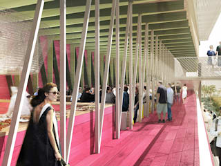 Mexico Pavillion @ Milan Expo:   by Emergent Design Studios