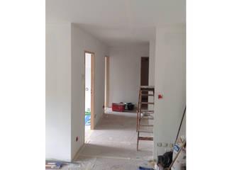 Appartement 62m2 Couloir, entrée, escaliers classiques par Arnaud Bouvier Design Classique