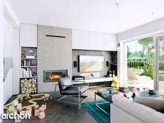 Maisons modernes par ArchonHome.pl Moderne