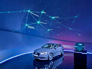 Audi Sphere - Interactive PufferSphere M600:  Event venues by Pufferfish