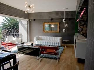 Nowoczesny salon od Elías Arquitectura Nowoczesny