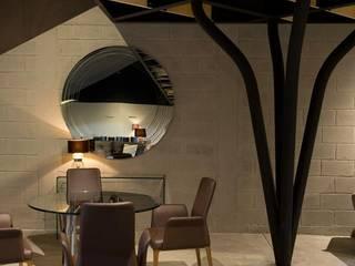 Nowoczesna jadalnia od Elías Arquitectura Nowoczesny