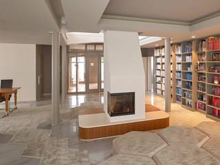 Villa L: moderne Wohnzimmer von IDA InteriorDesign Allmendinger