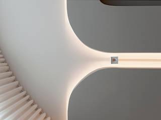 Villa L:  Wohnzimmer von IDA InteriorDesign Allmendinger