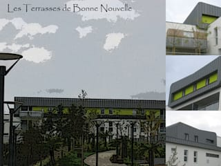 Les Terrasses de Bonne Nouvelle:  de style  par BE2TF