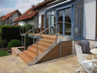 ระเบียง, นอกชาน by Hammer & Margrander Interior GmbH