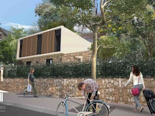 Casa Pré-Fabricada Massy - Paris : Casas  por Nogueira Fernandes, LDA,Moderno