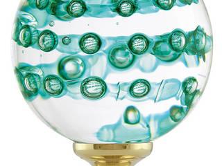 Boule d'escalier Collection spirabulles par Les Verreries de Bréhat Éclectique