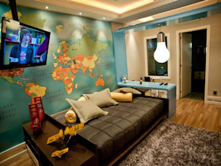 غرفة الاطفال تنفيذ Paulinho Peres Group