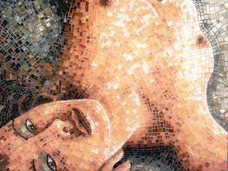 upside down: Arte in stile  di mosaico di Marzia Dottarelli