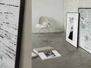 Abstract acrylic painting W100xS80cm: styl , w kategorii  zaprojektowany przez Iwonabilska