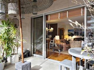 Terrazas de estilo  por Gavetão- Decoração de Interiores, Rústico