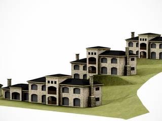 arelauquen casas patagonicas: Casas de estilo  por Lüters ochoa arquitectos.