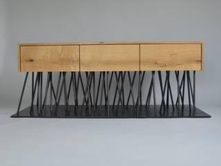 Sideboard schwerelos:  Wohnzimmer von deindreh