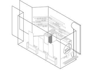 Minimalist study/office by Loeser / Bettels Minimalist