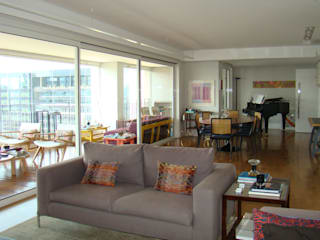 Luli Hamburger Arquitetura Modern Living Room