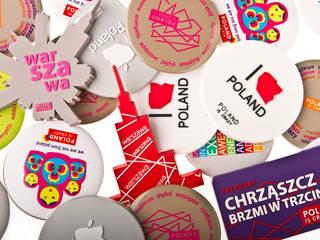 Magnesy Poland Is Crazy: styl , w kategorii  zaprojektowany przez POLAND IS CRAZY