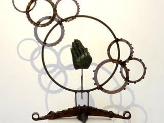 par Galeria Ivan Guaderrama Industriel Cuivre / Bronze / Laiton