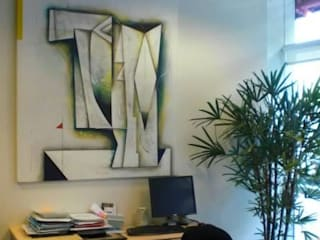 espacios con arte: Estudios y oficinas de estilo  por Daniel Vidal