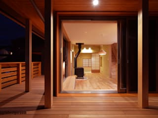 アグラ設計室一級建築士事務所 agra design room Eclectic style houses Wood
