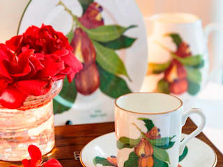"""Jamaican Ackee"" Fine Bone China Collection:   by Jenny Mein Designs"