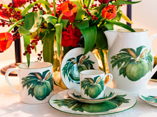 Breadfruit fine bone china collection Oleh Jenny Mein Designs Tropis