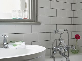 An Eclectic Edwardian Home: classic Bathroom by Heart Home magazine