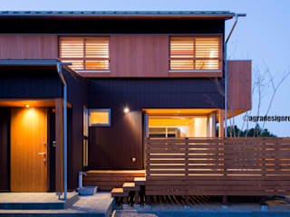 Modern houses by アグラ設計室一級建築士事務所 agra design room Modern