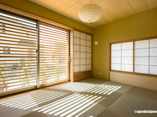 アグラ設計室一級建築士事務所 agra design room Chambre moderne