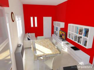 Proyecto de reforma en Cocina / Comedor: Livings de estilo moderno por Somos Arquitectura