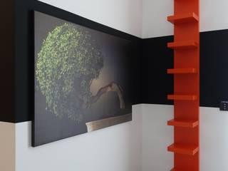 Pretty guest room Modern Duvar & Zemin J.Design Modern