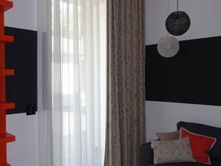 Pretty guest room Modern Yatak Odası J.Design Modern