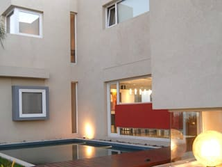 Дома в стиле минимализм от Ramirez Arquitectura Минимализм