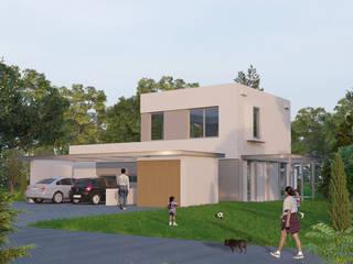 CASA EN PILAR DEL ESTE Casas minimalistas de Ramirez Arquitectura Minimalista