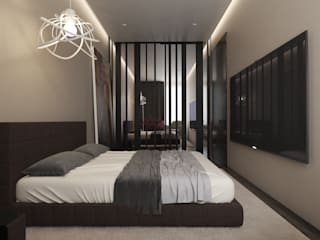 MC Interior Minimalistische Schlafzimmer