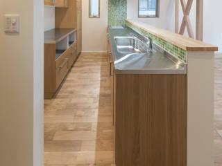 岡本建築設計室 Modern kitchen
