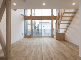 岡本建築設計室 Modern living room
