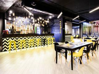 Bowling Hula Kula w Ostrzeszowie: styl , w kategorii Bary i kluby zaprojektowany przez Partner Design