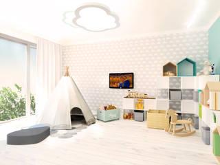 Bawialnia dzieci: styl , w kategorii  zaprojektowany przez Partner Design
