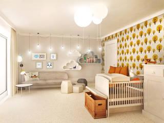 Sypialnia Maluszka: styl , w kategorii  zaprojektowany przez Partner Design