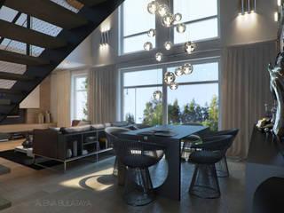 Modern living room by Алена Булатая Modern