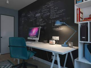 Modern study/office by Алена Булатая Modern