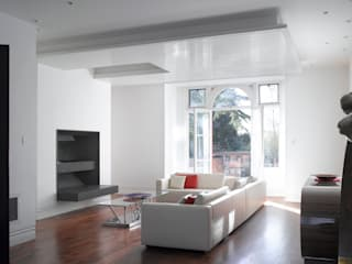 Klippan House Belsize Architects Living room