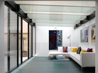 Park Village West Modern living room by Belsize Architects Modern